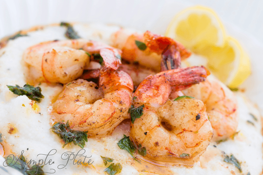 Southern shrimp and grits for Fish and grits