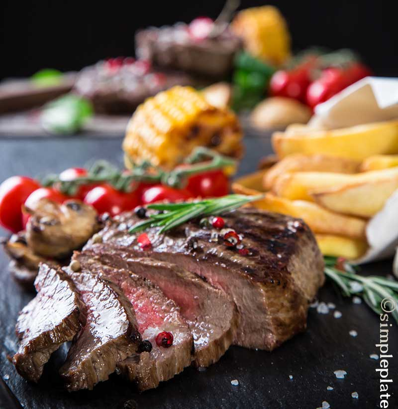 Sea Salt Crusted Rib Steak