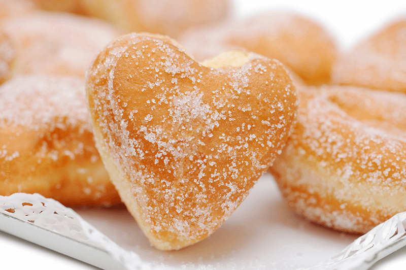 Valentine Heart Angel Biscnuts