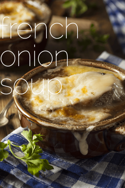 Perfect Classic French Onion Soup