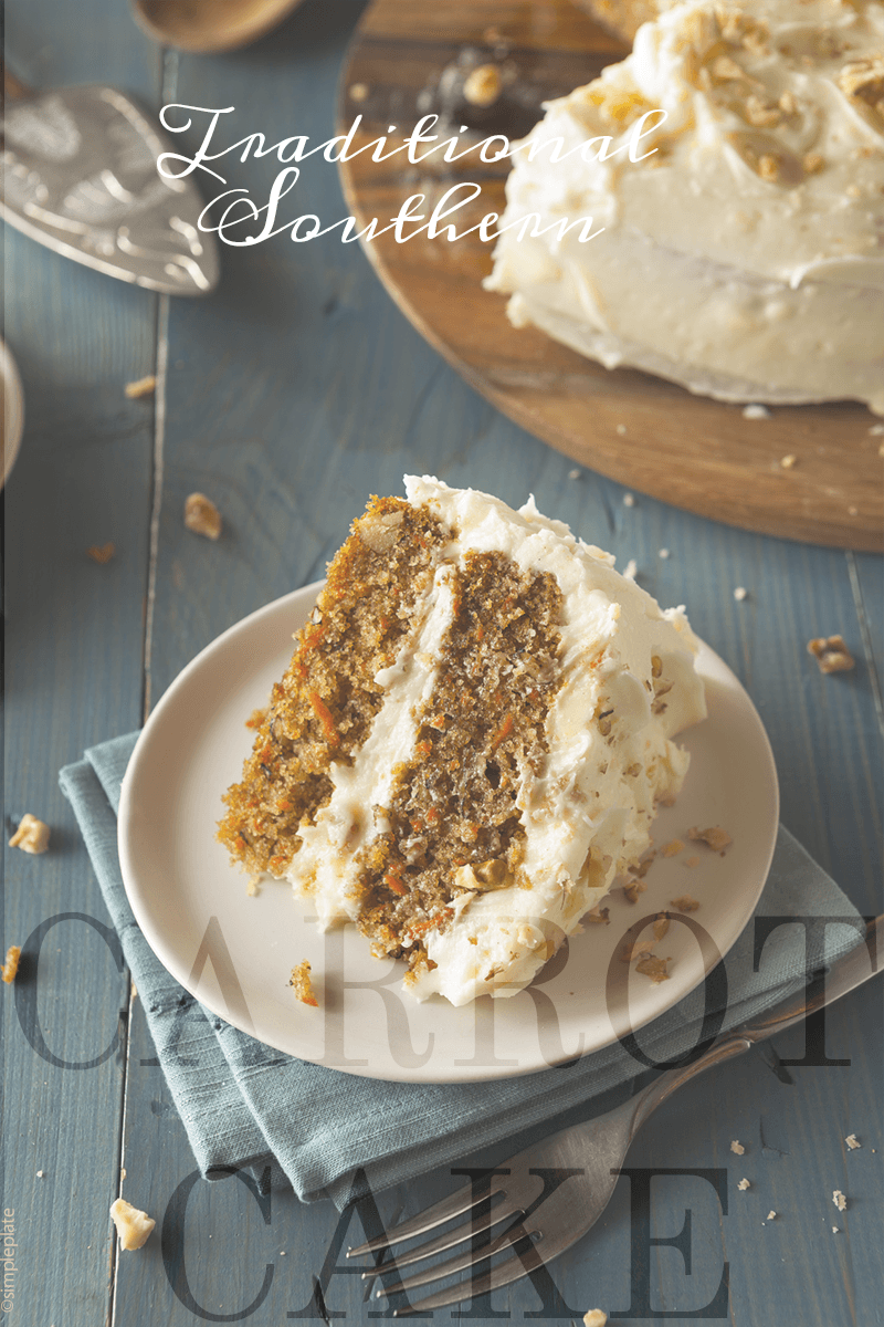 Traditional Southern Carrot Cake