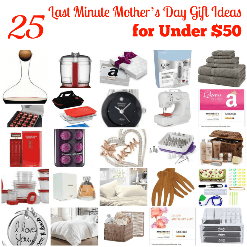 25 Gift Ideas Under 50 Dollars For Mom