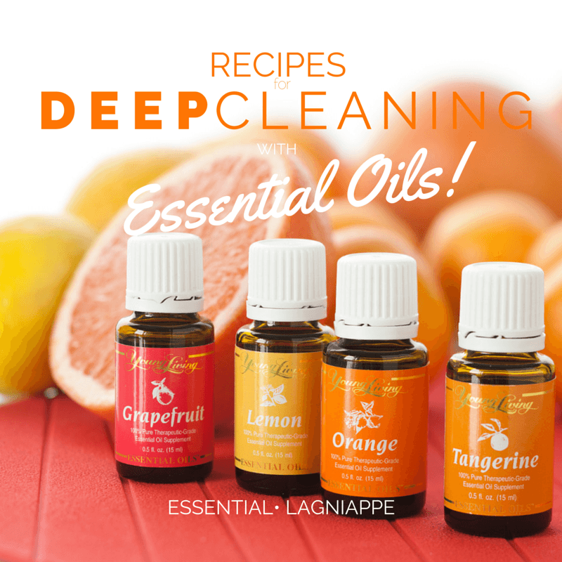 Deep Cleaning With Young Living Essential Oils   Girl ...