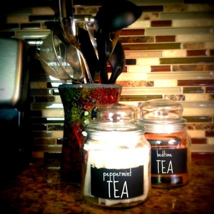 upcycled candle jars