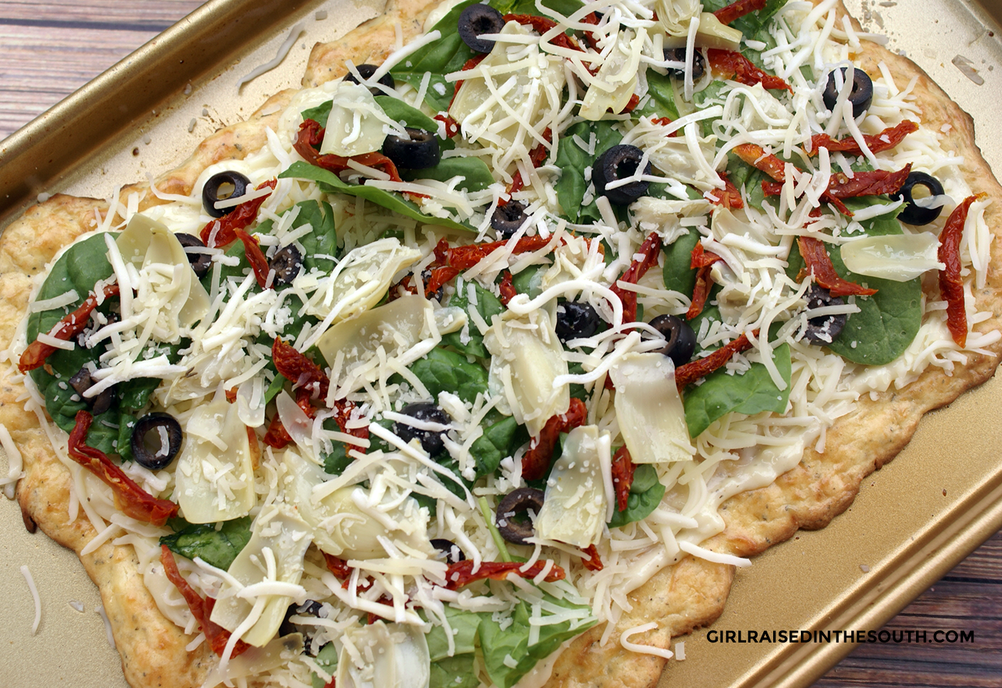 No Dough Gluten Free Pizza