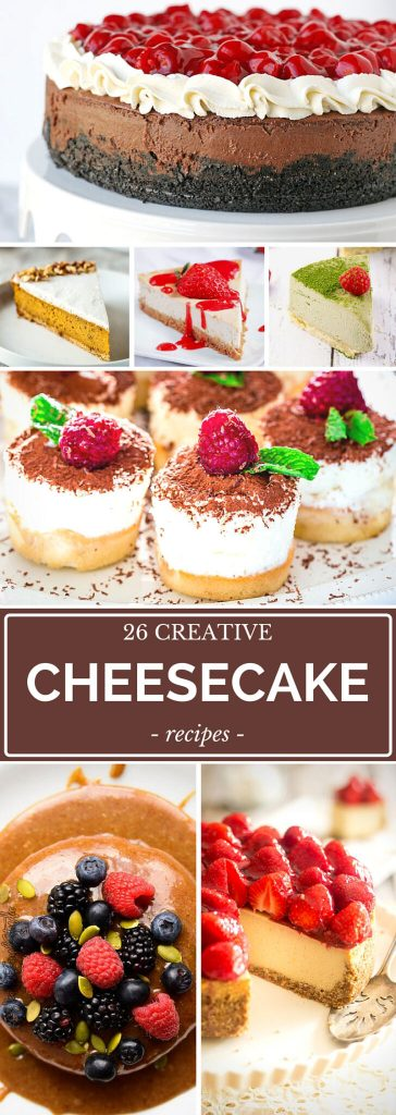 Supercharge Your Dessert Mojo With 26 Decadent Cheesecake Variations